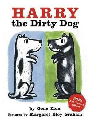 NEW Harry the Dirty Dog By Gene Zion Board Book Free Shipping