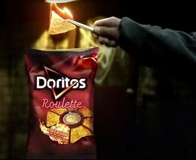 5x FULL SIZE Doritos Roulette Chips 255g Bags (BOX OF FIVE) SHIPS FROM NEW YORK