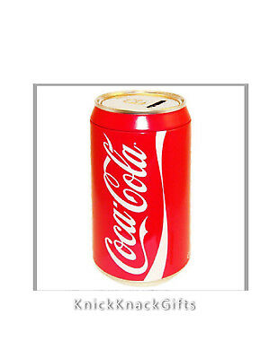 COCA COLA CAN BANK by the Tin Box Company