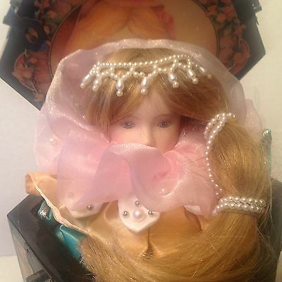 Enesco Cinderella Musical Jack In The Box Limited Edition #1014