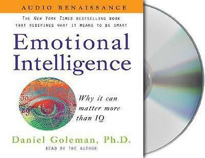 NEW Emotional Intelligence By Daniel P Goleman Audio CD Free Shipping