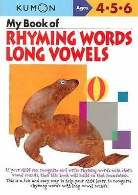 NEW My Book of Rhyming Words By KUMON EDITORS Paperback Free Shipping