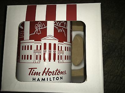 Tim Hortons Mug - Traveller's Collection - HAMILTON (from the hometown of Tim's)