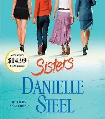 NEW Sisters By Danielle Steel Audio CD Free Shipping