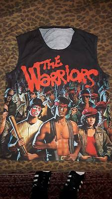 The Warriors - Movie ( W/ Back Print) Sleeveless, Sublimation shirt,  XXL