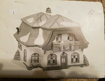"""Department 56 Alpine Village """"Bakery And Chocolate Shop"""""""
