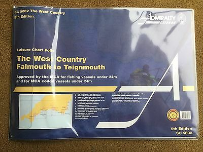 Admiralty Leisure Chart Folio Falmouth To Teignmouth SC5602 9th Edition