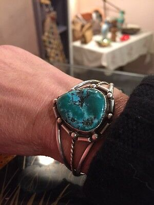 Turquoise Cuff Sterling Silver