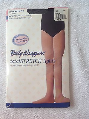 Body Wrappers C80 Footed Girls Tights Total Stretch Pink