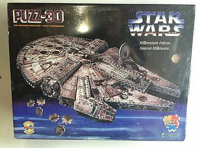 Puzz3D: STAR WARS Millennium Falcon (857 Pieces) - BRAND NEW/FACTORY SEALED