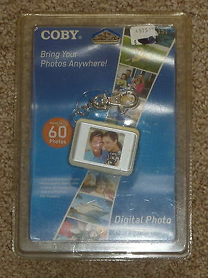 Coby DP151 Keychain Digital Photo Frame 2007 - 60 Photos - New in Package