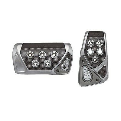 GT Spec Pedal Set AT-S Silver Universal fits Automatic Car JDM RP101 RAZO