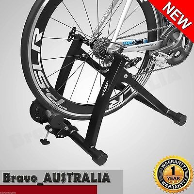 Indoor Bike Magnetic Stand Trainer Bicycle Roller Cycling Training Exercise