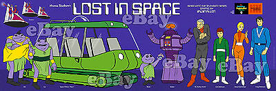 NEW!! EXTRA LARGE! LOST IN SPACE Panoramic Photo Print HANNA BARBERA Studios