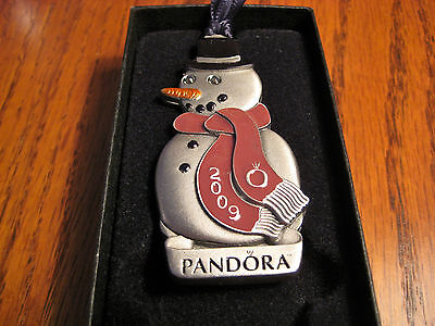 Auth 2009 Pandora Collector's Ornament 2Nd In Series Only Given To Stores Htf