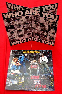 the Who ORIGINAL 1978 record store HANGING MOBILE for WHO ARE YOU