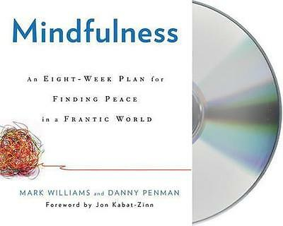 NEW Mindfulness By Mark Williams Audio CD Free Shipping