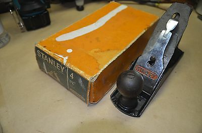 VINTAGE STANLEY No 4 SMOOTHING PLANE AUSTRALIA IN ORIGINAL BOX