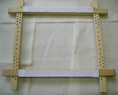 """NEW ITA 24x24"""" TRADITIONAL SLATE FRAME for CROSS STITCH, embroidery, etc"""