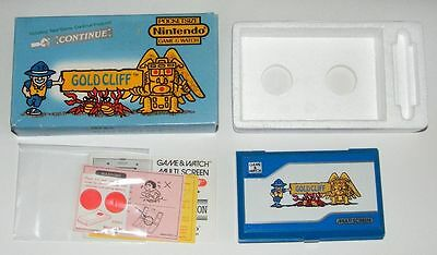 NINTENDO GAME & WATCH - GOLD CLIFF - Multi Screen 1988 - BOXED -