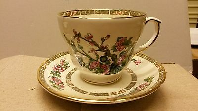Duchess China Indian Tree Breakfast Cup and Saucer x 2...
