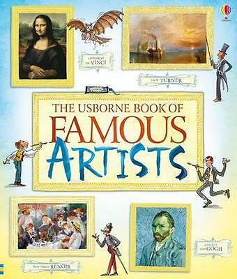 NEW Book of Famous Artists By Rosie Dickins Paperback Free Shipping