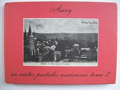Amay Huy en cartes postales anciennes  photographie TBE histoire tome 2 1979