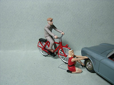 2  Figurines  1/43   Set 84  La  Crevaison    Vroom  A  Peindre