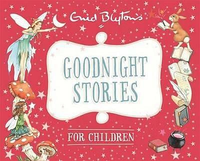 NEW Goodnight Stories for Children By Enid Blyton Hardcover Free Shipping