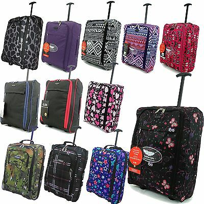 Cabin Hand Luggage Suitcase Ryanair Wheeled Trolley Travel Case Bag easyjet