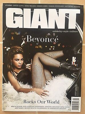 Beyonce Giant magazine Hot Rare! Excellent Condition