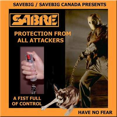 ONE NEW PEPPER HOT DIGGITY DOG SABRE DOG DETERRENT SPRAY P-SDAD-05  22g