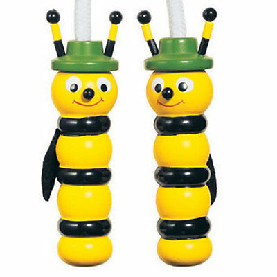 House of Marbles : Wooden Bee Skipping Rope