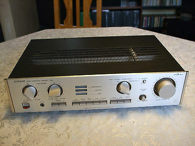 ***Top Luxman L-203 High-End Stereo Amplifier Top***