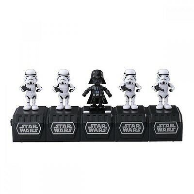 Takara Tomy STAR WARS SPACE OPERA Darth Vader and 4 Storm Troopers Toy