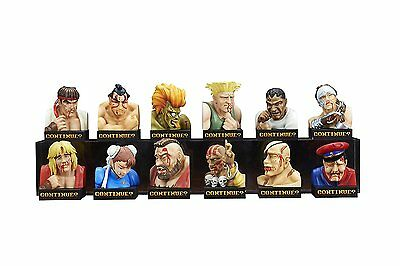 Street Fighter II Trading Figure Defeated Face Collection Vol.1 12 Pieces set