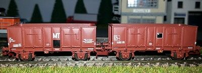 Coffret Wagons Tombereau Sncf Ree Modeles Nw-051 1/160