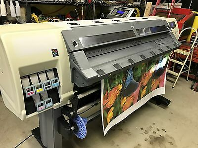 HP L25500 Latex Printer Comes with Demo of Onyx Rip Software PICKUP ONLY