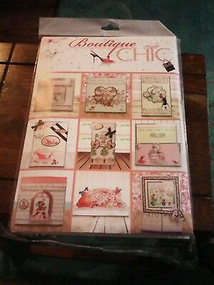 New Hunkydory Boutique Chic complete card kit