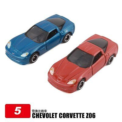 Tomica 5 Chevolet Corvette Z06 Diecast Car( Initial Special Orange Or Bule)