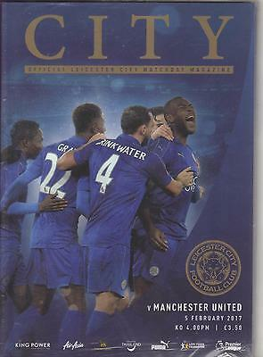 2016/17      Leicester City    v    Manchester United   MINT   05.02.2017