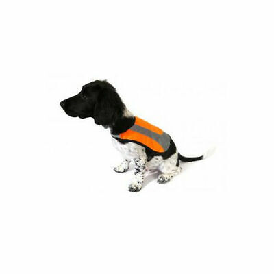 Premium Reflective Dog Coat Orange - Accessories - Dog - Night & Safety Wear