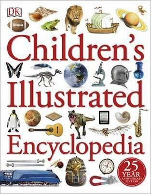 NEW Children's Illustrated Encyclopedia By DK Paperback Free Shipping