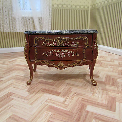 Jia Yi Dolls House Marble Top Commode 12Th Scale New