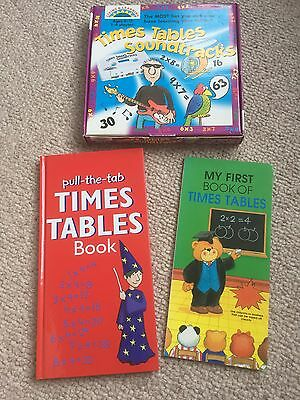 Times Tables Soundtracks Game and Books, Educational Teaching Learning Resources