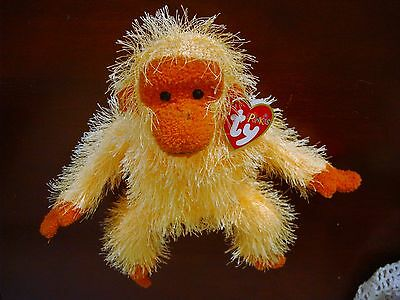 Ty Punkie Trapeze the Monkey Retired 2003