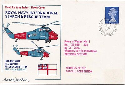 G.B. 1981 R.N. International Search and Rescue Team Competition