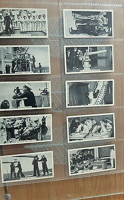 Original Ardath cigarette cards - LIFE IN THE SERVICES - 1938 full set