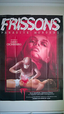 SHIVERS (1975) Original Movie Poster DAVID CRONENBERG They Came From Within