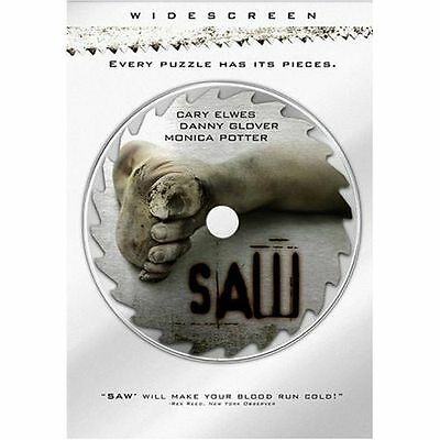 Saw (DVD, Brand New, Widescreen)